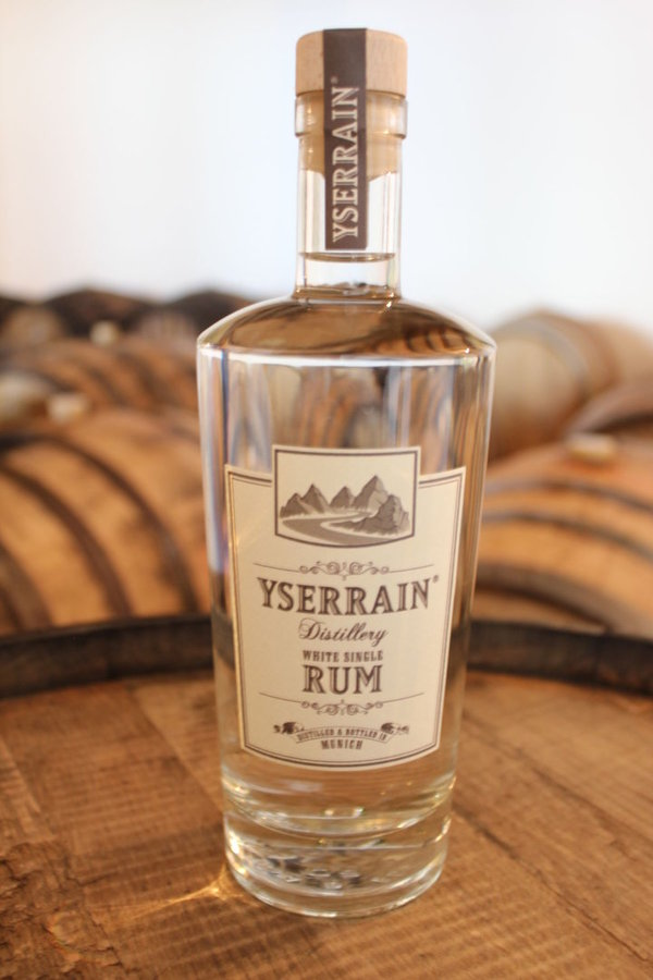 YSERRAIN® White Single Rum  0,5 L  - 41 %