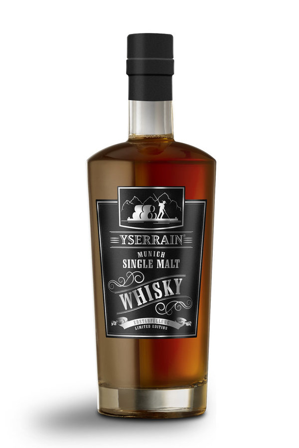 YSERRAIN® Munich Single Malt Whisky 'Erstabfüllung' Limited Edition